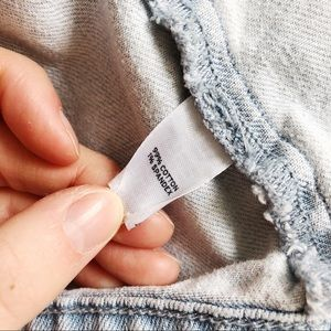 Nordstrom Jackets & Coats - 3 FOR $15 RUBBISH Nordstrom Light Wash Vest XS EUC